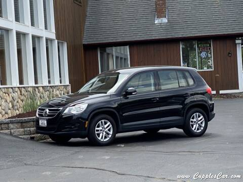 2011 Volkswagen Tiguan for sale at Cupples Car Company in Belmont NH