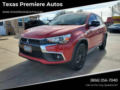 2017 Mitsubishi Outlander Sport for sale at Texas Premiere Autos in Amarillo TX