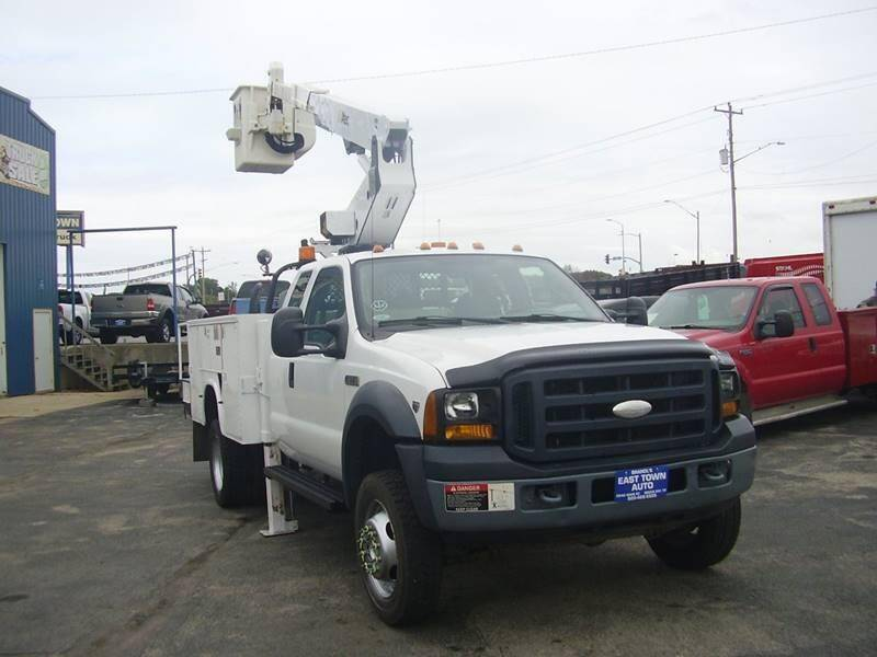 2007 Ford F-550 Super Duty for sale at East Town Auto in Green Bay WI