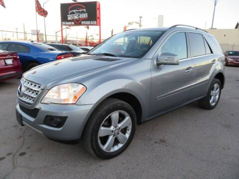 2011 Mercedes-Benz M-Class for sale at Moving Rides in El Paso TX