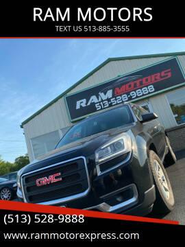 2014 GMC Acadia for sale at RAM MOTORS in Cincinnati OH