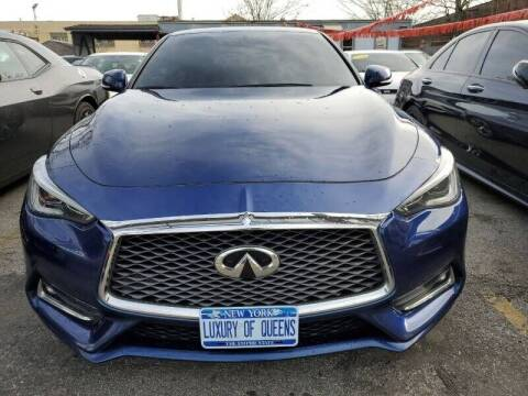 2017 Infiniti Q60 for sale at LUXURY OF QUEENS,INC in Long Island City NY
