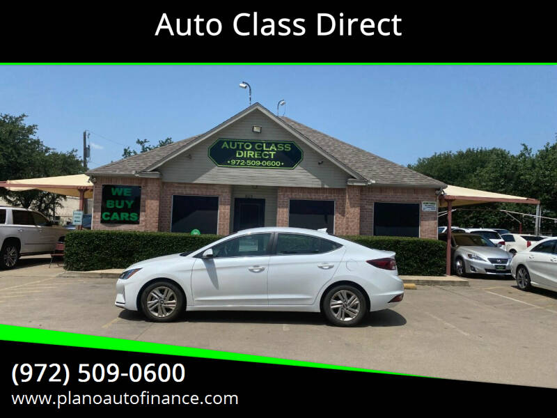 2019 Hyundai Elantra for sale in Plano, TX