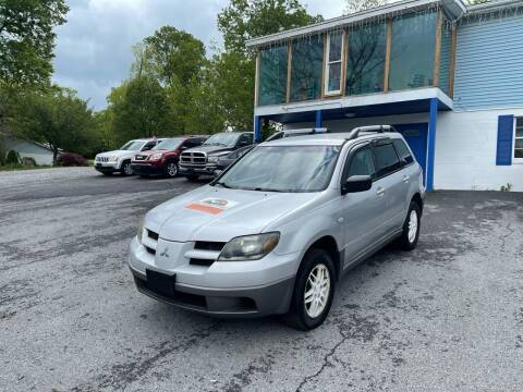 2003 Mitsubishi Outlander for sale at Noble PreOwned Auto Sales in Martinsburg WV