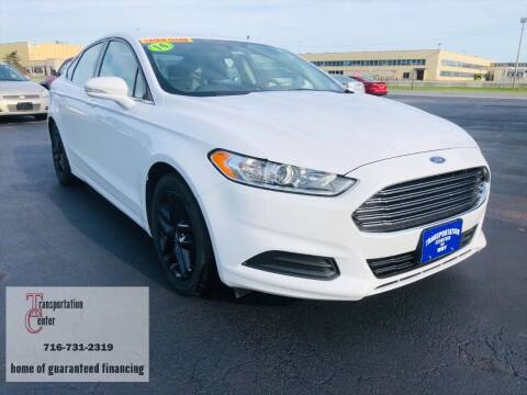2014 Ford Fusion for sale at Transportation Center Of Western New York in Niagara Falls NY