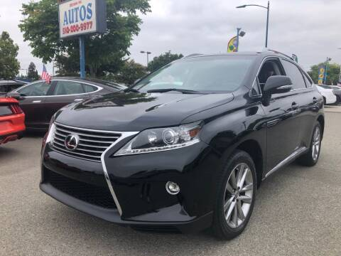 2015 Lexus RX 350 for sale at MISSION AUTOS in Hayward CA