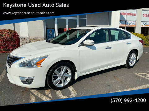 2013 Nissan Altima for sale at Keystone Used Auto Sales in Brodheadsville PA
