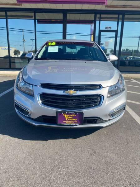 2016 Chevrolet Cruze Limited for sale at East Carolina Auto Exchange in Greenville NC