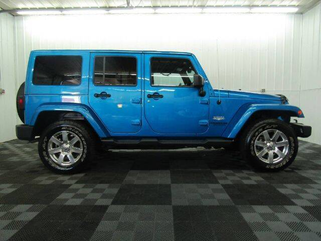 2015 Jeep Wrangler Unlimited for sale at Michigan Credit Kings in South Haven MI