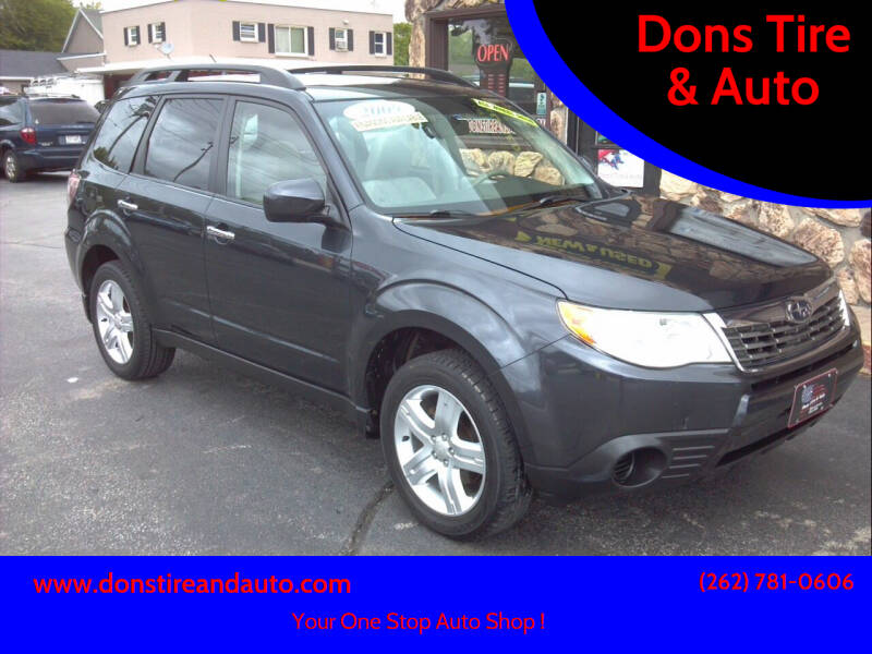 2009 Subaru Forester for sale at Dons Tire & Auto in Butler WI