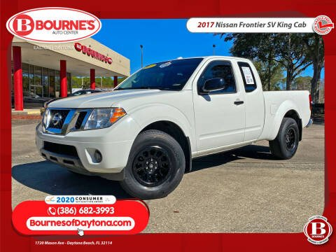 2017 Nissan Frontier for sale at Bourne's Auto Center in Daytona Beach FL