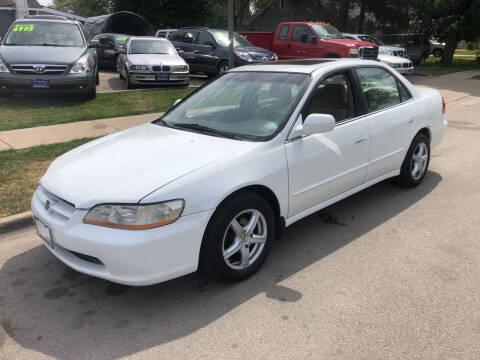 2000 Honda Accord for sale at CPM Motors Inc in Elgin IL