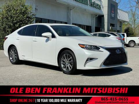 2016 Lexus ES 300h for sale at Ole Ben Franklin Mitsbishi in Oak Ridge TN