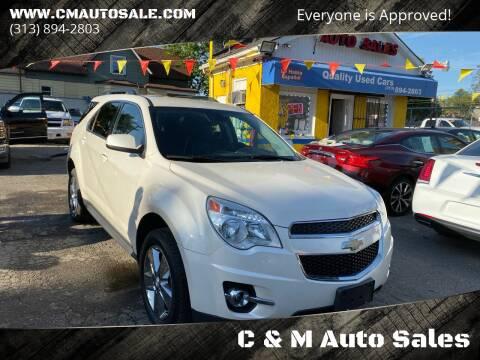 2014 Chevrolet Equinox for sale at C & M Auto Sales in Detroit MI