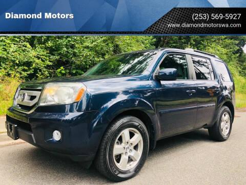 2011 Honda Pilot for sale at Diamond Motors in Lakewood WA