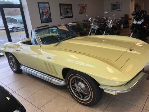 1965 Chevrolet Corvette for sale at Classic Connections in Greenville NC