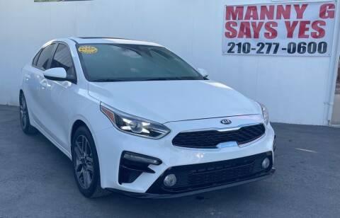 2019 Kia Forte for sale at Manny G Motors in San Antonio TX
