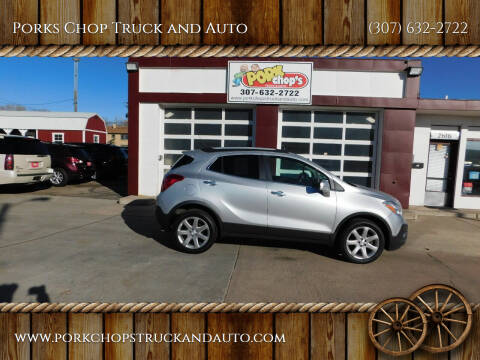 2015 Buick Encore for sale at Porks Chop Truck and Auto in Cheyenne WY