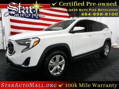 2018 GMC Terrain for sale at STAR AUTO MALL 512 in Bethlehem PA