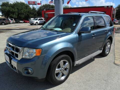2010 Ford Escape for sale at Talisman Motor City in Houston TX