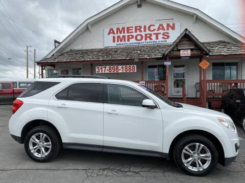 2013 Chevrolet Equinox for sale at American Imports INC in Indianapolis IN