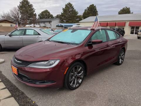 2015 Chrysler 200 for sale at Progressive Auto Sales in Twin Falls ID