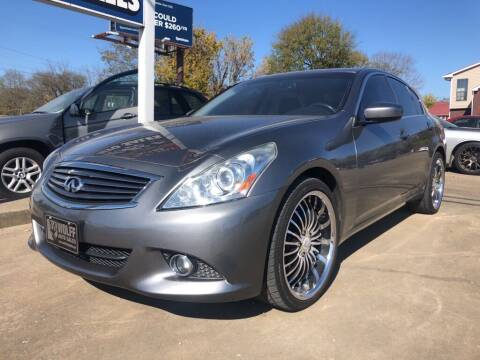 2012 Infiniti G37 Sedan for sale at Wolff Auto Sales in Clarksville TN