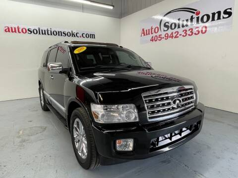 2009 Infiniti QX56 for sale at Auto Solutions in Warr Acres OK
