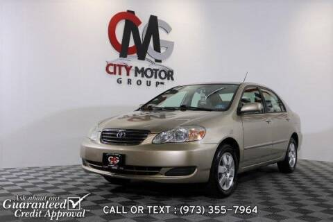 2005 Toyota Corolla for sale at City Motor Group, Inc. in Wanaque NJ