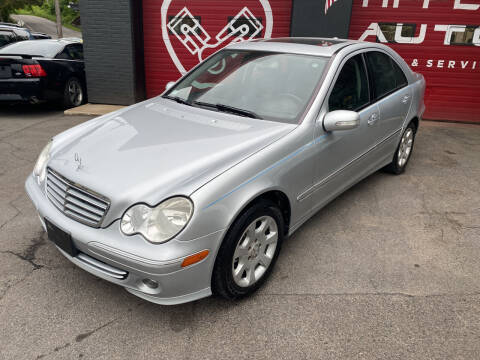 2006 Mercedes-Benz C-Class for sale at Apple Auto Sales Inc in Camillus NY