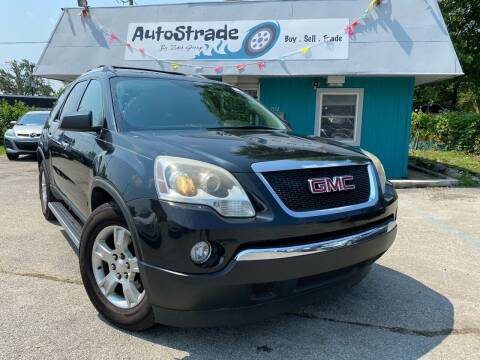 2011 GMC Acadia for sale at Autostrade in Indianapolis IN