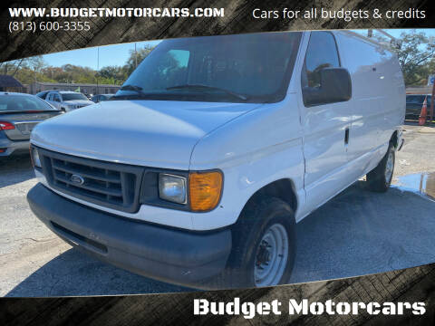 2007 Ford E-Series Cargo for sale at Budget Motorcars in Tampa FL
