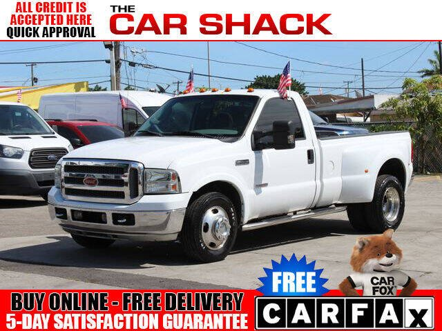 2007 Ford F-350 Super Duty for sale at The Car Shack in Hialeah FL
