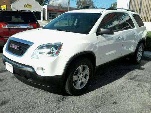 2012 GMC Acadia for sale at HARMAN MOTORS INC in Salisbury MD