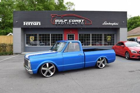 1971 Chevrolet C/K 10 Series for sale at Gulf Coast Exotic Auto in Biloxi MS