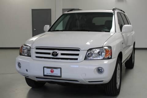 2004 Toyota Highlander for sale at Mag Motor Company in Walnut Creek CA
