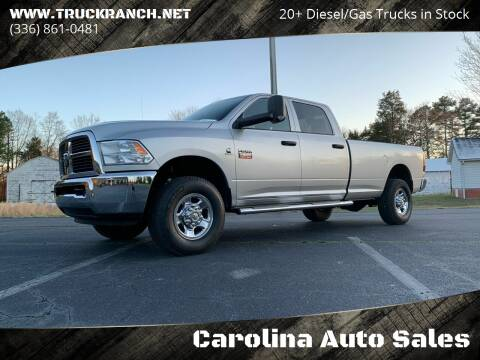2012 RAM Ram Pickup 2500 for sale at Carolina Auto Sales in Trinity NC
