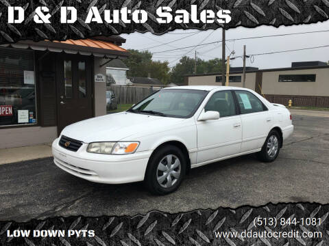 2000 Toyota Camry for sale at D & D Auto Sales in Hamilton OH