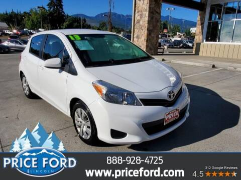 2013 Toyota Yaris for sale at Price Ford Lincoln in Port Angeles WA