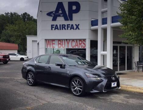 2017 Lexus GS 350 for sale at AP Fairfax in Fairfax VA