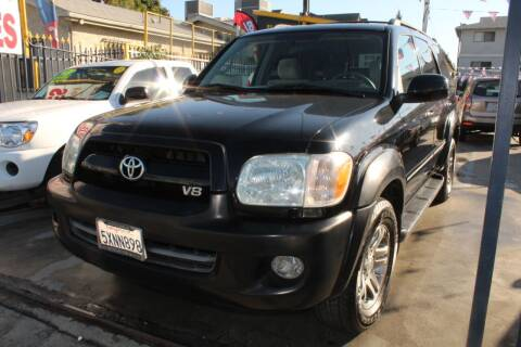 2007 Toyota Sequoia for sale at FJ Auto Sales in North Hollywood CA