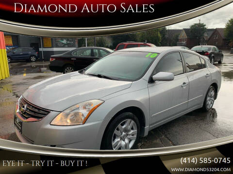 2010 Nissan Altima for sale at Diamond Auto Sales in Milwaukee WI