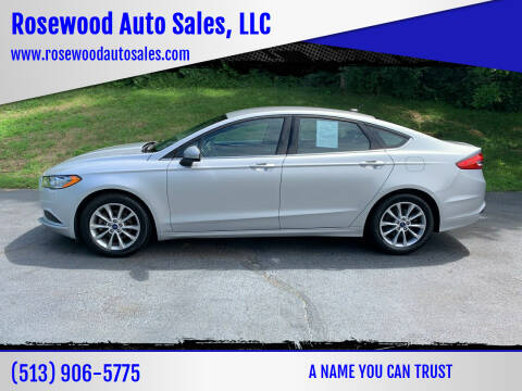 2017 Ford Fusion for sale at Rosewood Auto Sales, LLC in Hamilton OH