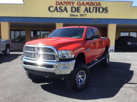 2015 RAM Ram Pickup 2500 for sale at CASA DE AUTOS, INC in Las Cruces NM