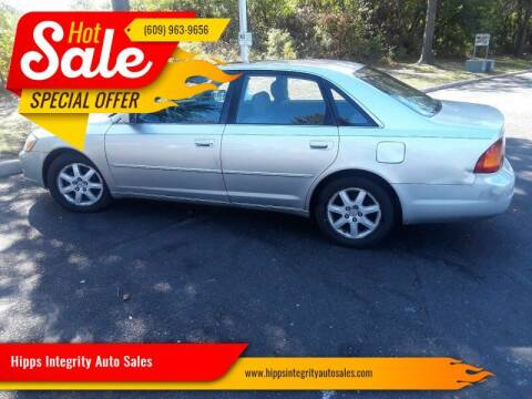 2002 Toyota Avalon for sale at Hipps Integrity Auto Sales in Delran NJ