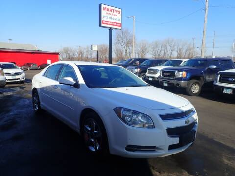 2010 Chevrolet Malibu for sale at Marty's Auto Sales in Savage MN