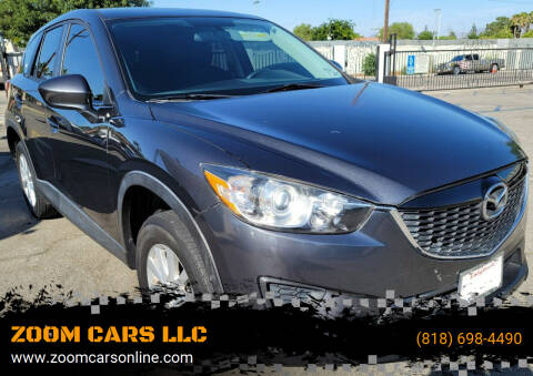 2014 Mazda CX-5 for sale at ZOOM CARS LLC in Sylmar CA