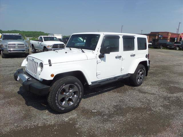 2016 Jeep Wrangler Unlimited for sale at Terrys Auto Sales in Somerset PA