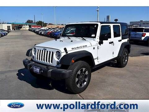 2017 Jeep Wrangler Unlimited for sale at South Plains Autoplex by RANDY BUCHANAN in Lubbock TX