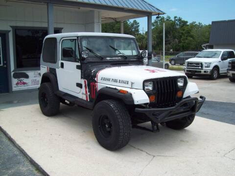 1992 Jeep Wrangler for sale at LONGSTREET AUTO in Saint Augustine FL